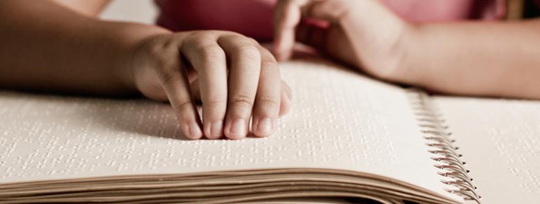 En bok med punktskrift